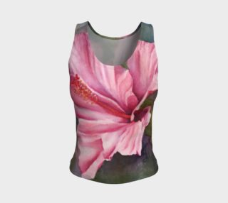 Hibiscus Flower Tank Top preview