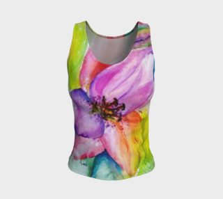 Neon Lily Tank Top preview