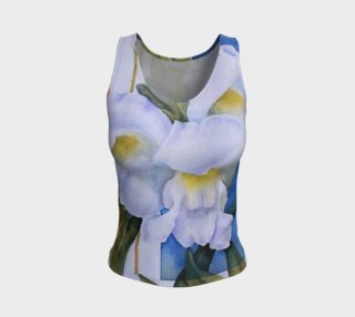 White Snapdragons Tank Top preview