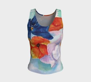 Pansies Tank Top preview