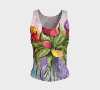 Tulip Bouquet Tank Top preview