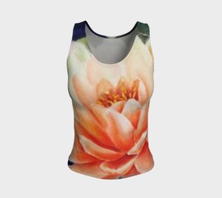 Orange Waterlily Tank Top preview