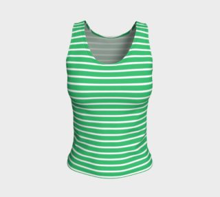 Stripes - White on Green preview