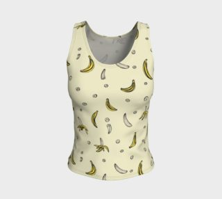 Bananas - Fitted Tank Top aperçu