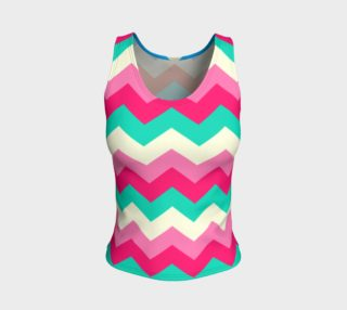 Zigzag Fitted Tank Top preview