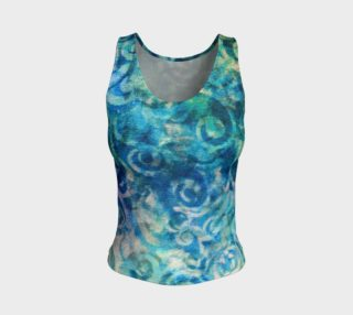 Blue Swirl Tank preview