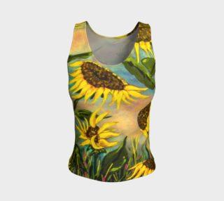 Sunflowers Tank aperçu