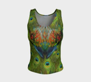 Nicobar-Peacock Fantasy Fitted Tank Top preview
