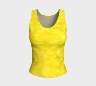 Sunshine Yellow Fitted Tank Top preview