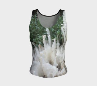 Crystal stones on Fitted Tank Top preview