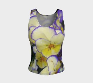Yellow and Blue on tank top clothing preview