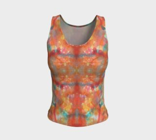 Aperçu de Desert Sunset Fitted Tank Top