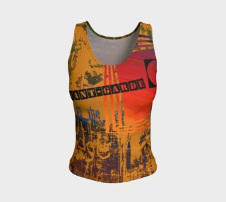 Avant-Garde Fitted Tank Top aperçu