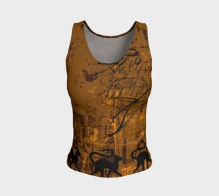 Street Cats Fitted Tank Top aperçu