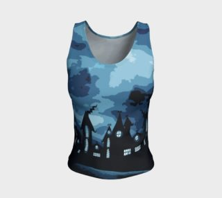 Mysterious night Fitted Tank Top preview