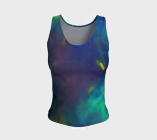 Into the blue Fitted Tank Top preview