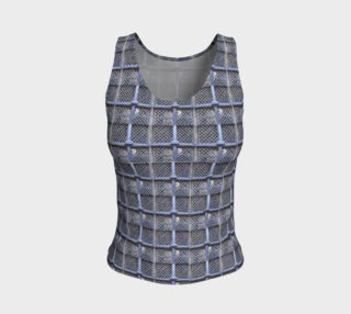 Medieval Grate Fitted Tank Top aperçu