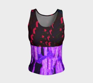 Cypress Violet Fitted Tank Top preview