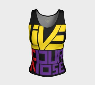 Live On Purpose Tank (Black) preview
