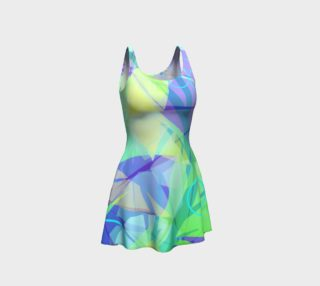 Limeade Flared Dress preview