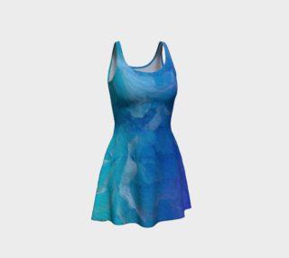Aperçu de Blue I So Hope Flare Dress