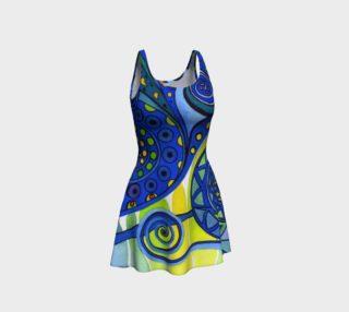 AURORA BOREALIS Flare Dress 2 preview