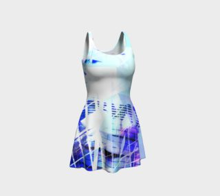 Cityscape Prisms Flare Dress preview