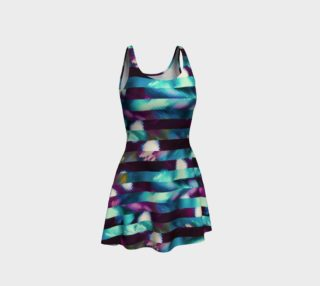 Blurred Vision Flared Dress preview