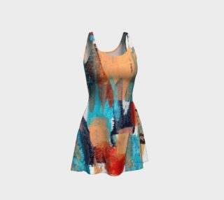 Urban Chaos Flare Dress preview