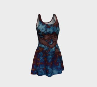 Tie-Dye Sky in Brown and Blue preview