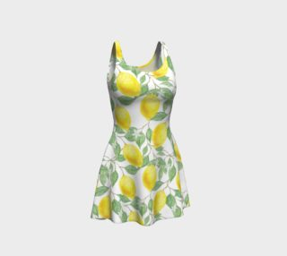 Life gives You Lemons Flare Dress preview