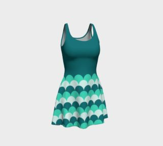 Mermaid Scales Flare Dress preview