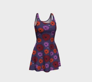 Poppies 3 Flare Dress preview
