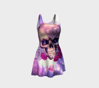 glitter skull preview