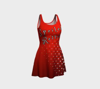 Spoiled Rotten Harlequin Flare Dress preview
