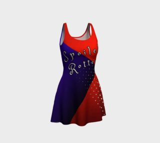 The Demon Child of Harlequin/Joker Flare Dress preview