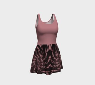 Aperçu de Dusty Rose Elegant Whirl Dress