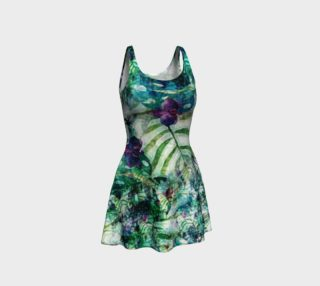 Tropical Floral Flare Dress preview