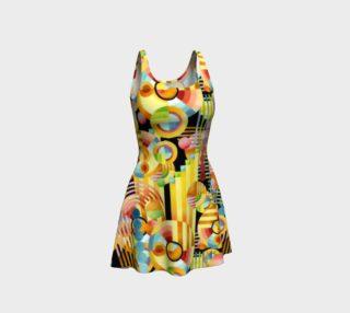 Aperçu de Art Deco Maximalist Flare Dress