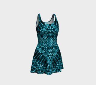 Teal Mind Warp Dress preview