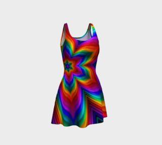 Rainbow Flower Dress preview