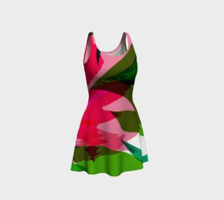 Pink Abstract Dress by HOLLIDAY preview