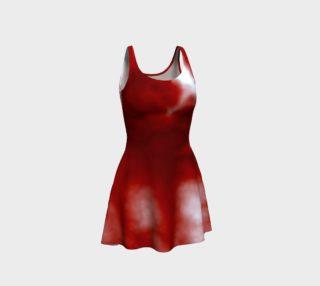 Cherry Cream Sky Flare Dress preview