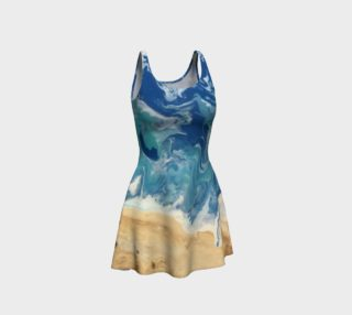 Beach Abstract Dress preview