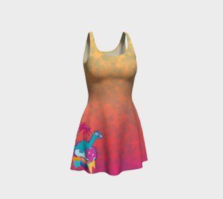 Nerdasaurus Flare Dress preview