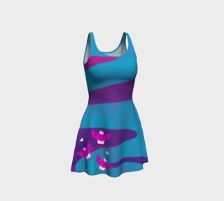 Batty Cakes Flare Dress preview