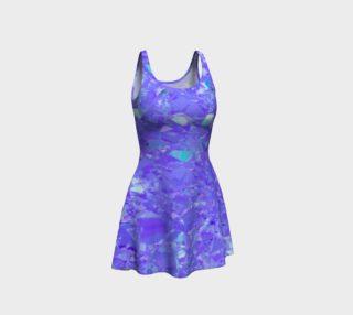 Shatter Me Violet Flare Dress preview