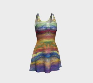 Rainbow Spirit Flare Dress preview