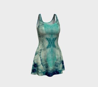 Lake art  flare dress preview