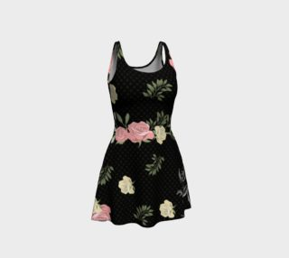 Vintage Roses and Frogs Summer Dress preview